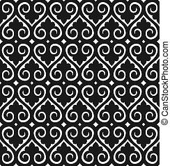 Seamless wallpaper pattern - vector seamless wallpaper...