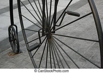 型, サーカス, 自転車
