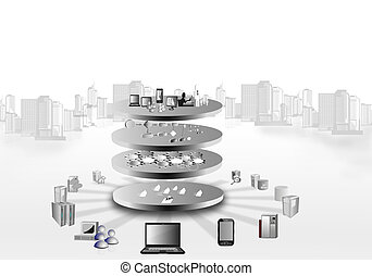 Enterprise Application Integration - Illustration of service...