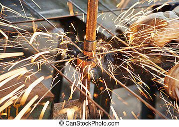 spot welding - Spot welding machine reinforcement production...