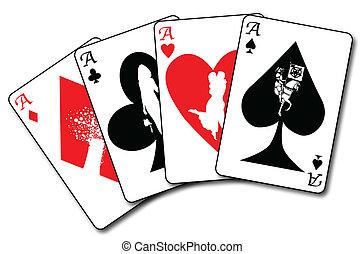 Four Aces Flush