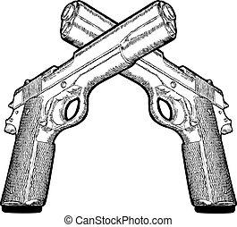 varios, arma de fuego