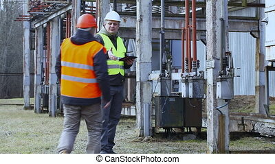 Electrician  in the electric substation episode 6
