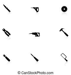 Home repair icons - Home repair black icons