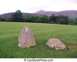 Castlerigg Stone Circle, Keswick, English Lake District