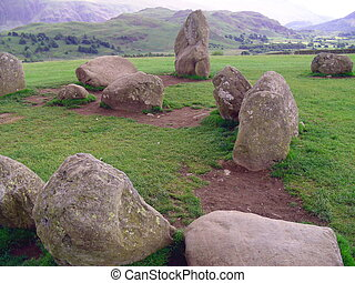 Castlerigg Stone Circle, Keswick, English Lake District