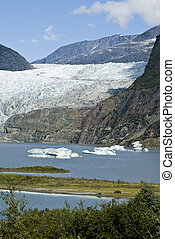 USA Alaska - Mendenhall Glacier