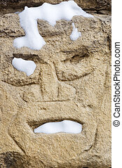 Face in Stone