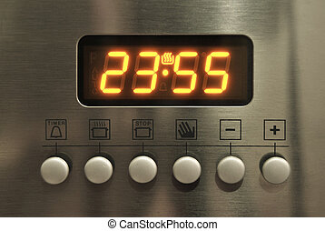 Oven control panel - Modern ovens and electronic instrument...