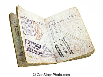 passport - wll used open us passport