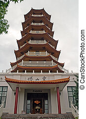 pagoda - Pagoda in Nan Tien buddhist Temple in Australia