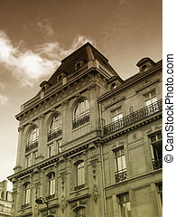 Ancient parisian building - a view of an ancient parisian...