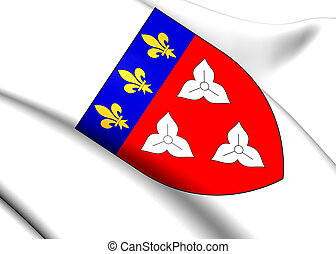 Orleans Coat of Arms, France.