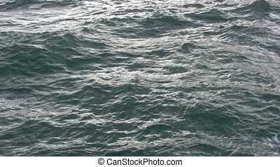 Atlantic ocean abstract.