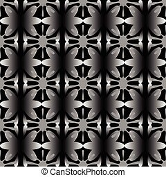 seamless on black background