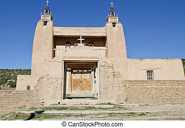 Vintage new mexico mission