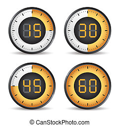set of four timers
