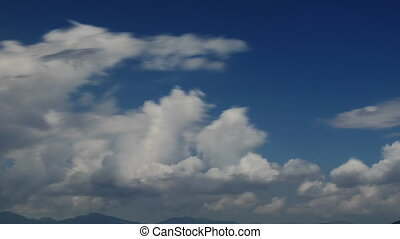 Cloud Span Part Three - A Cloud Time lapse in the Beautiful...