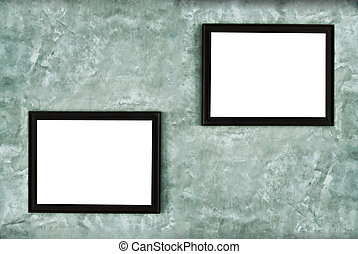 Picture frame hanging on the wall