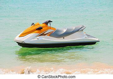 jet-ski - Jet ski on the beach