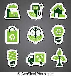 eco sticker label