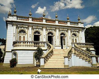 Curitiba Historical Building - A beautiful historical...