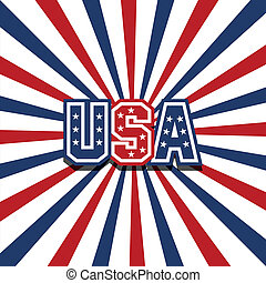 USA vector stardust background