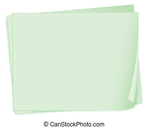 Empty paper templates - Illustration of the empty paper...