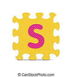 Vector letter S