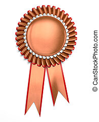 Award rosette - Very high resolution 3d rendering of a...