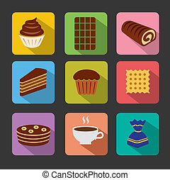 confectionery icons