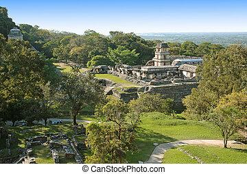 Palenque mayan ruins - The ancient Mayan ruins of Palenque...