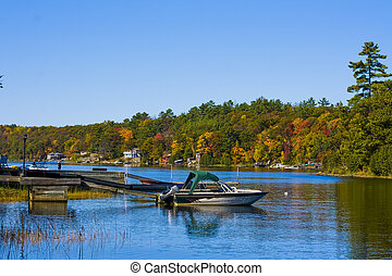 Cottage Country in Autumn