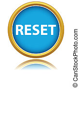 Reset icon on a white background. Vector illustration