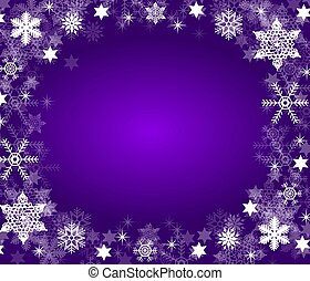 christmas frame background purple