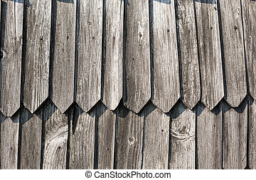 old house wooden wall