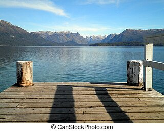 Dock in Argentina - A beautiful view of a dock in Argentina.