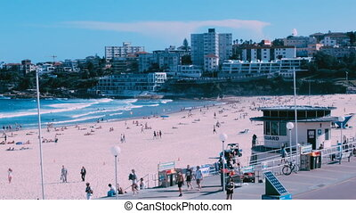 South Bondi - Bondi Beach, Sydney Australia World famous...