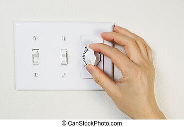 Adjusting Fan Timer for Bathroom
