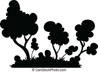 Cartoon Forest