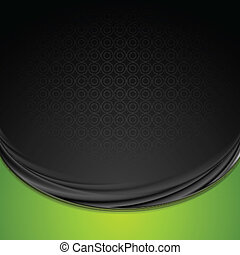Bright smooth waves vector background - Bright smooth waves...