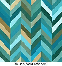 Seamless Color Abstract Zigzag Vector Background - Color...