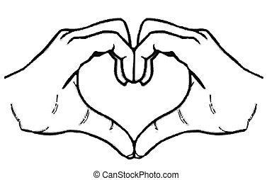 Heart Hands - Heart hands
