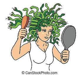 Medusa - Bad Hair Day