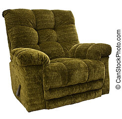 Rocker Recliner Chair - Big and Tall Sage Green Rocker...