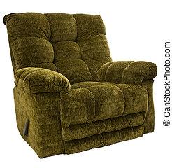 Rocker Recliner Chair - Big and Tall Sage Green Rocker...
