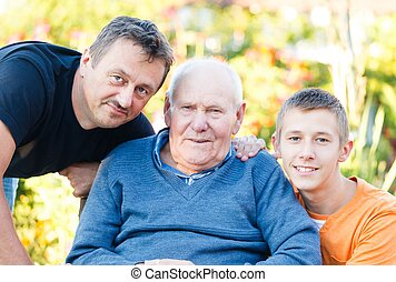 Male Family Members - The male members of the family...