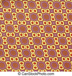 batik pattern - Seamless background beautiful batik, detail...