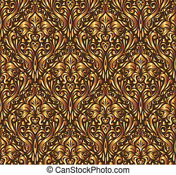 Vector floral background - This image is a vector...