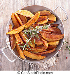 wedge potato